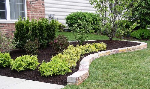 Landscaping Rock Border : Brick landscape edging a classic look house how to trees the o jays and