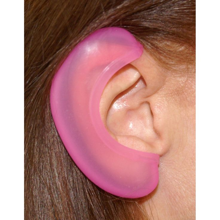 Where in THE HELL was this when I was growing up??? GENIUS if you've ever burned an ear w/curling iron, hot comb, or styling tools! Clever Girl Glam Ears. $12