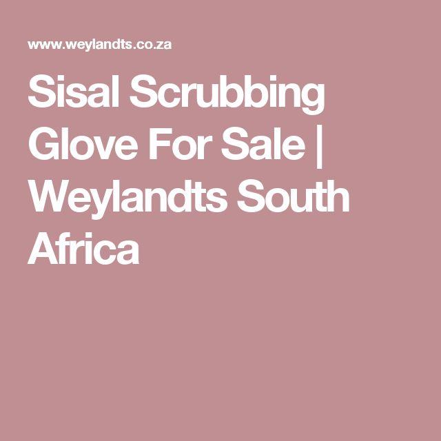 Sisal Scrubbing Glove For Sale | Weylandts South Africa