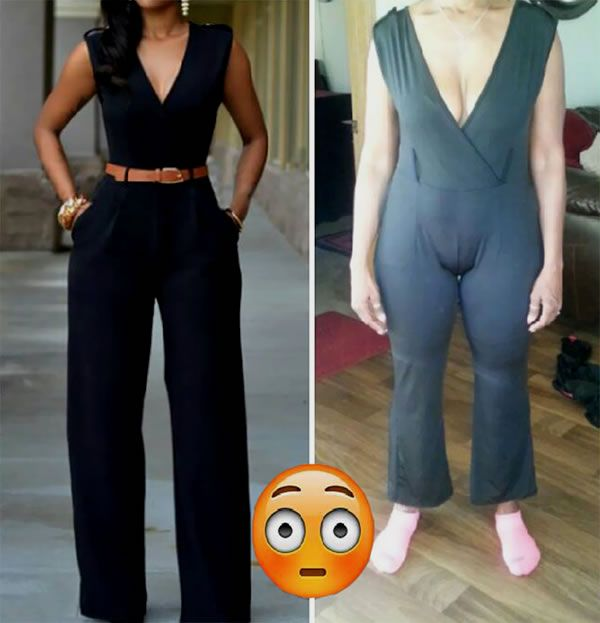 """Online shopping fails: Read the small print before you click """"buy"""" #amazon #clothing #fail #fashion #funny #onlineshopping #shopping #shoppingfail"""