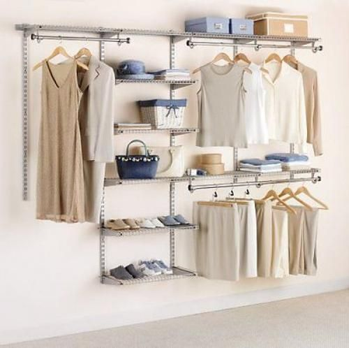 NEW-Rubbermaid-Configurations-Custom-Closet-Organizer-Deluxe-4-to-8-Foot