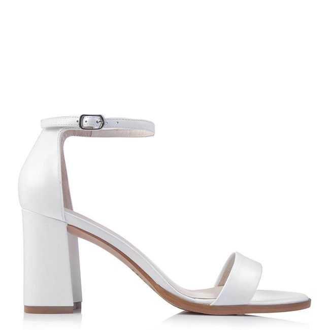 Classic White Sandal