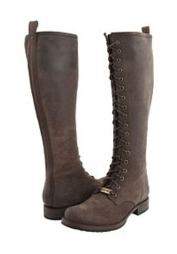 Frye Veronica Lace Tall Women's Riding Boots Leather
