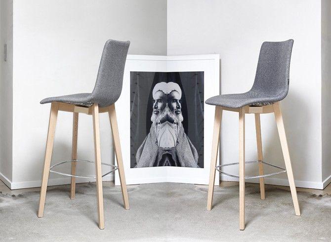 Barová židle: NATURAL ZEBRA POP STOOL