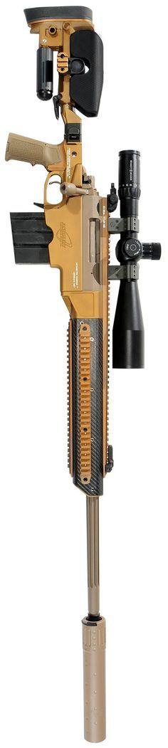 AIG Asymmetric Warrior 338LM Precision Sniper Rifle.