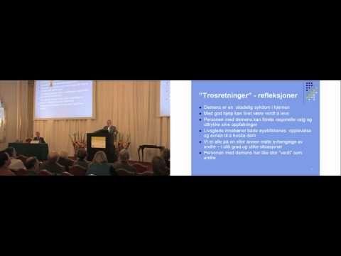 Etikk og behandling av personer med demens Sigurd Sparr - YouTube