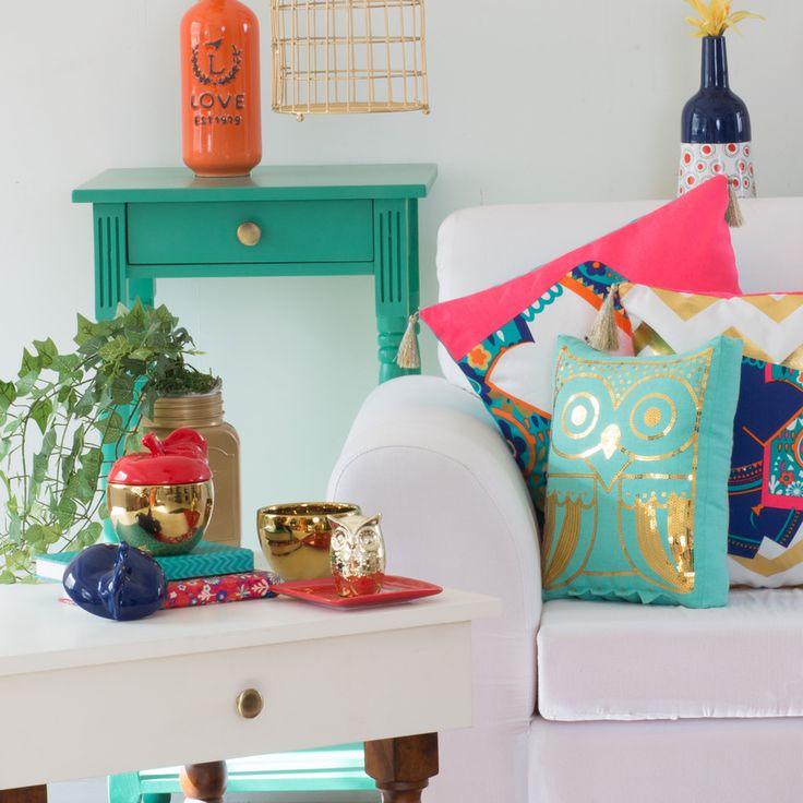 Buy Festive Owl Shape Cushion Online - Chumbak