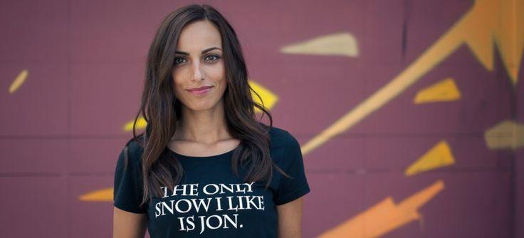 Pentru fanele Game of Thrones, check this out! Jon Snow black T-shirt