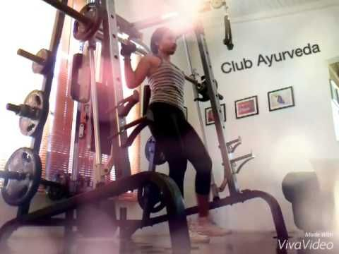 Lunge & Squats by Club Ayurveda - YouTube