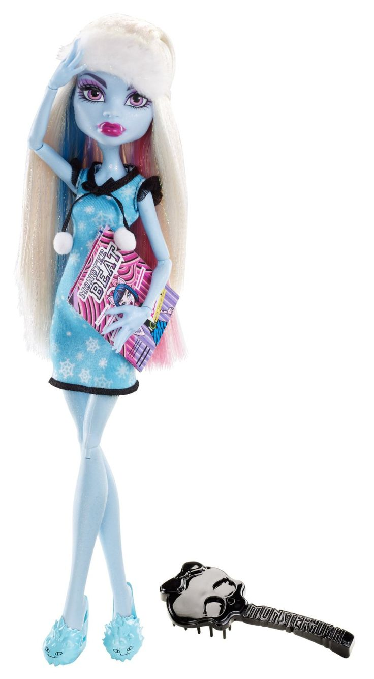Monster high dead tired abbey bominable doll dead tired monster high monster high dolls - Image monster high ...