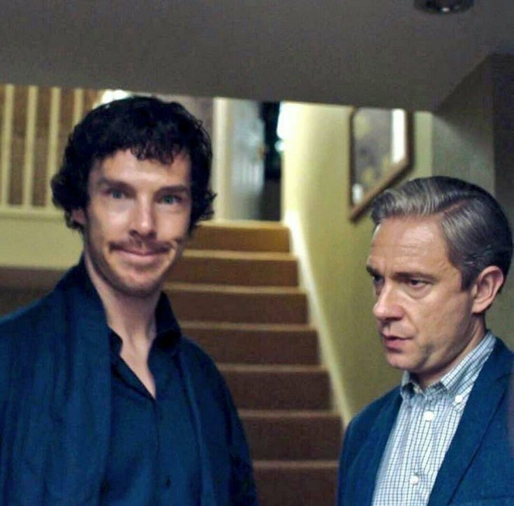 Martin looks so done with Ben.