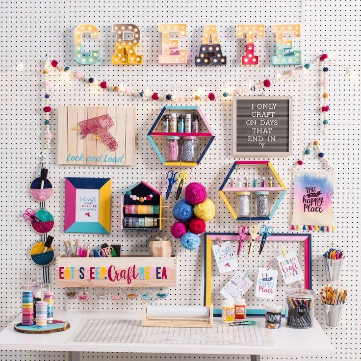 Diy Art Craft Ideas Fun365 Fun365 Craft Room Decor Diy Crafts Room Decor Craft Room