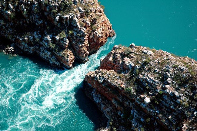 Horizontal Waterfall - Kimberley Coast, North Western Australia