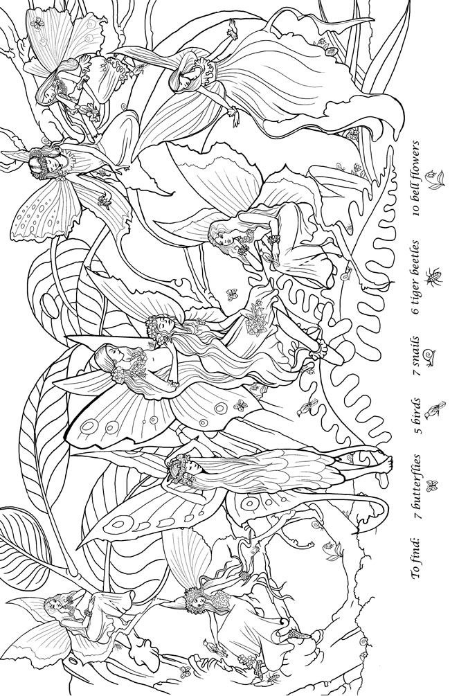 dover publications coloring pages - welkom bij dover publications fairy coloring sheets