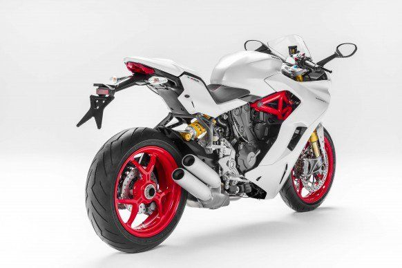 Ducati introduced a new 937cc SuperSport, adding a new street-based sportbike to its roster to go alongside with the more track-focused Panigale line
