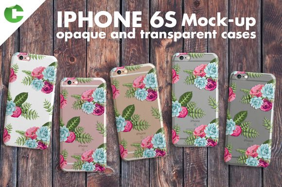 Iphone 6S Case + Device Mock-Up  http://textycafe.com/23-iphone-6-mockup-psd-templates/