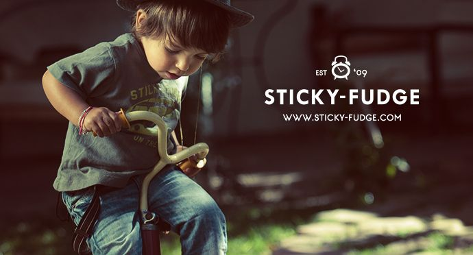 Sticky-Fudge S/S '13/14 Collection #boys #fashion #trendy #bicycle #vintage