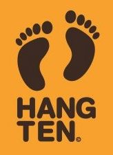 "Hang Ten clothing. This was the ""it"" clothes of my young days."