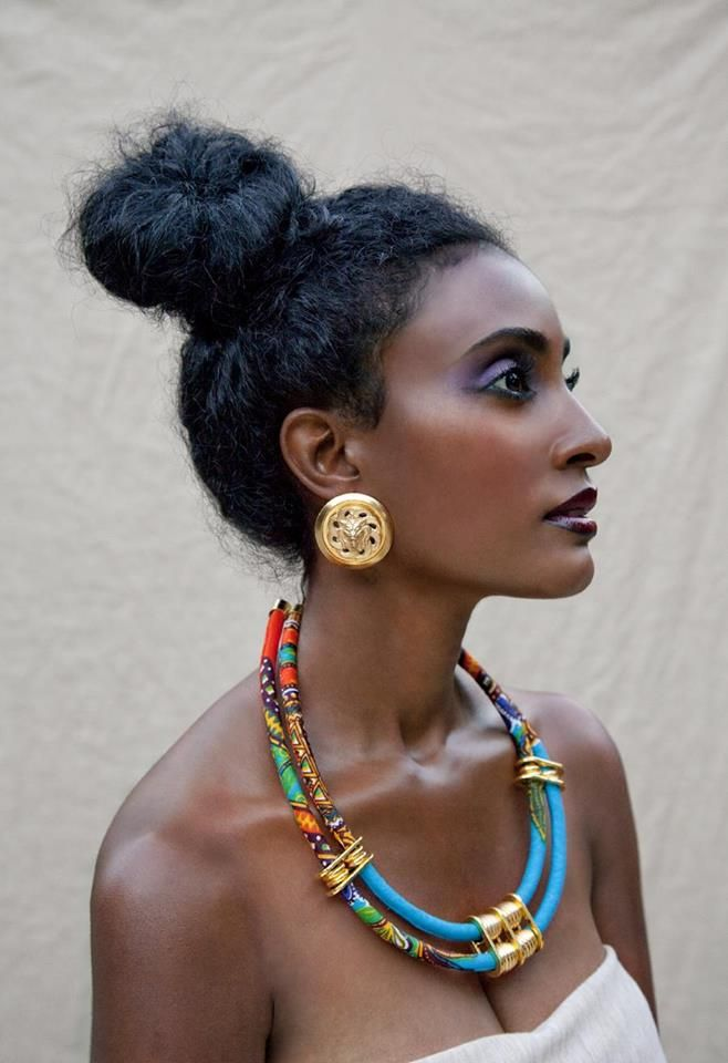 Maybe Statement Jewellery With An African Twist Can Make