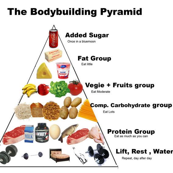 Diet plan for body builders