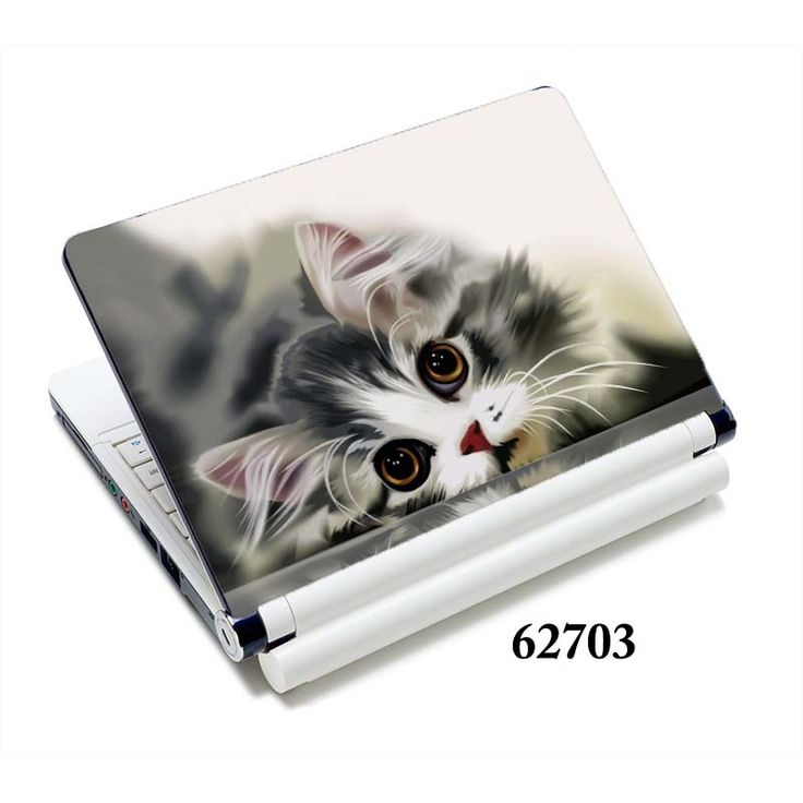 """cat laptop sticker notebook skin covers 13""""15""""15.6"""" for macbook/ acer computer accessories / hp  #Affiliate"""