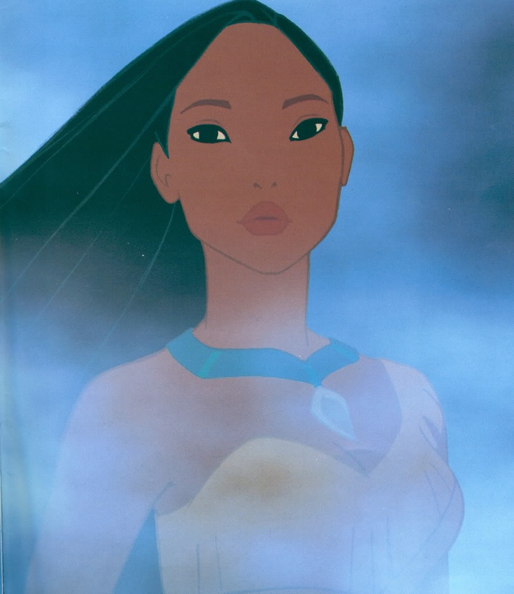 "Pocahontas - ""You can paint with all the colours of the wind."""
