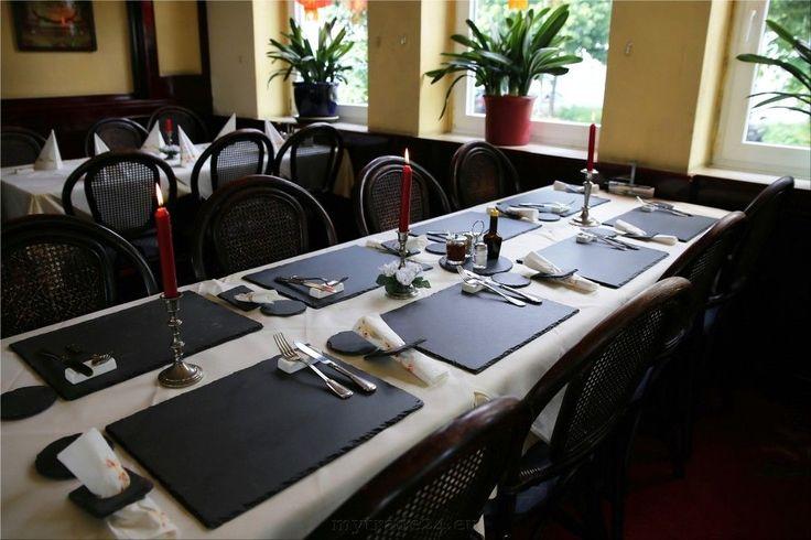 Schieferplatten Set 10 Platten mit Bruchkante 40 x 30 cm + 10 Untersetzer in Möbel & Wohnen, Kochen & Genießen, Gedeckter Tisch | eBay