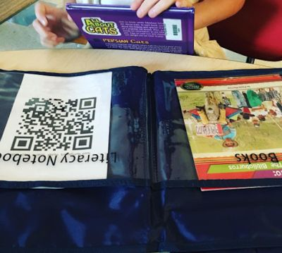 Using a combination of TodaysMeet, Padlet and QR Codes for Reading Engagement