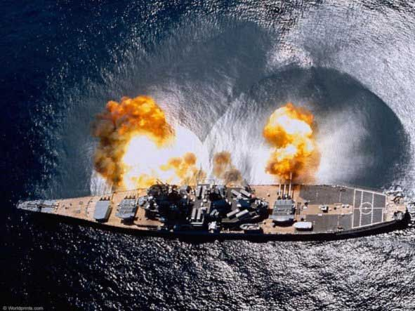 USS Misouri: Iowa Class Battleship - Awesome fire power. massive ship which is an absolutely timeless classic in naval superiority...