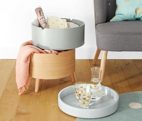 Odkládací stolek s úložným prostorem 343936 z e-shopu Tchibo.cz