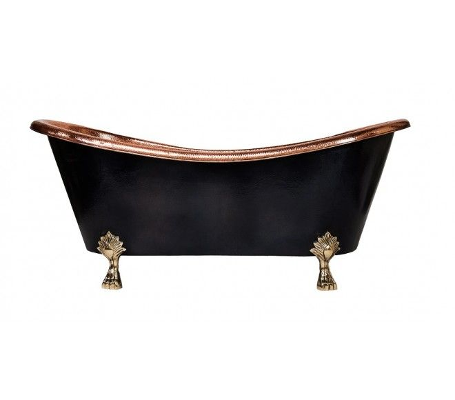 JamesTown™ Copper Clawfoot Tub by CopperSmith