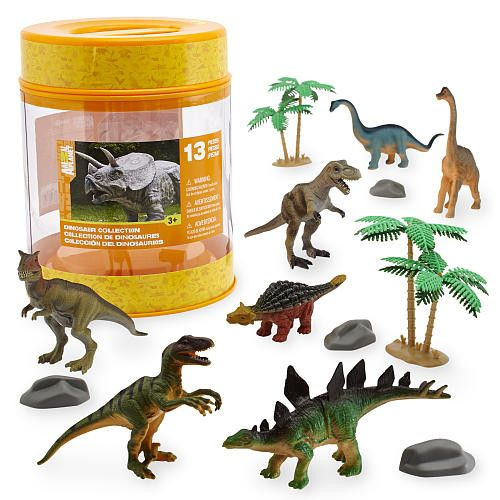 Animal Planet Dinosaur Collection Bucket Learning