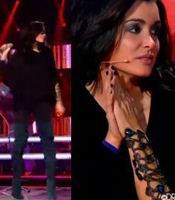 JENIFER dans The Voice le 16/03/2013 sur TF1