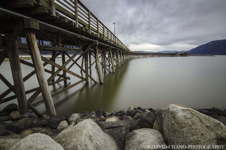 Longest wooden pier - Salmon Arm BC