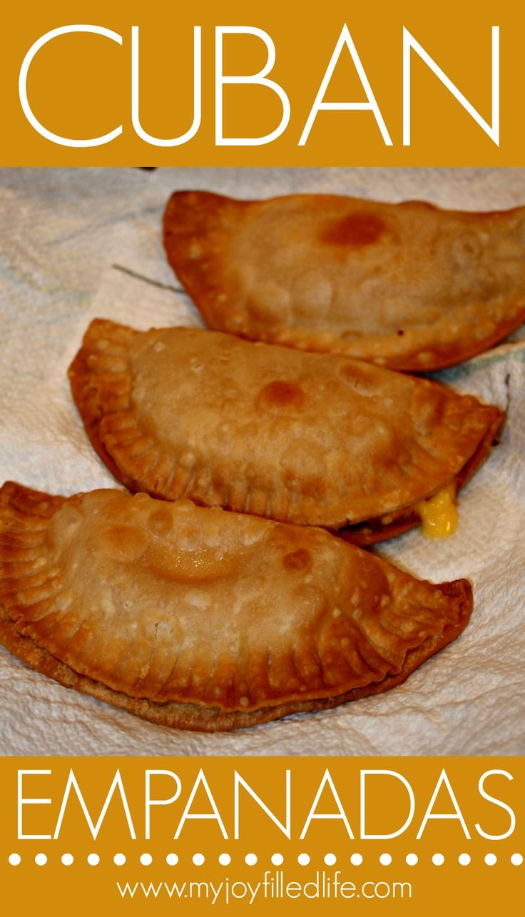 Cuban Empanadas 2 - I FINALLY found a decent empanada recipe!