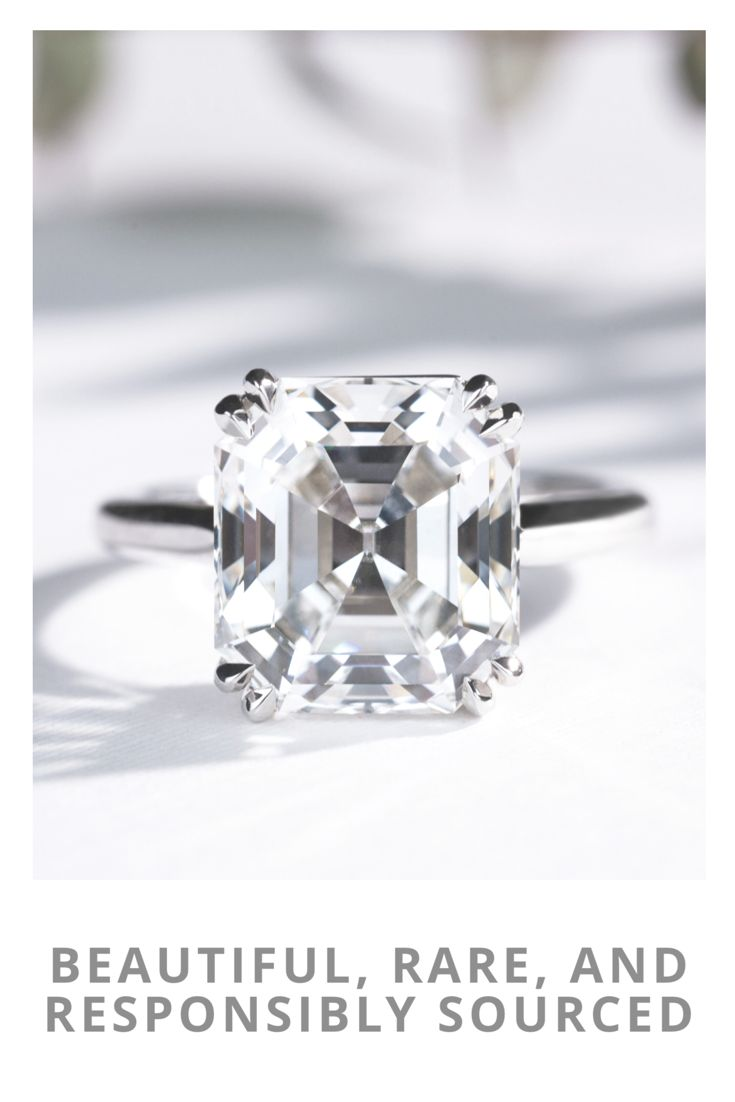 Rare From The Moment Of Discovery, This 855ct Emerald Cut Forevermark  Exceptional Diamond Ring