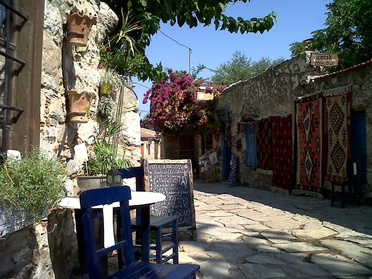 Grab a cup of coffee and take a seat... Datca-Turkey