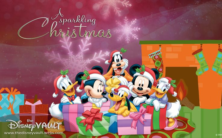 Mickey & Pals Sparkling Christmas - Disney Wallpaper (9584784) - Fanpop fanclubs