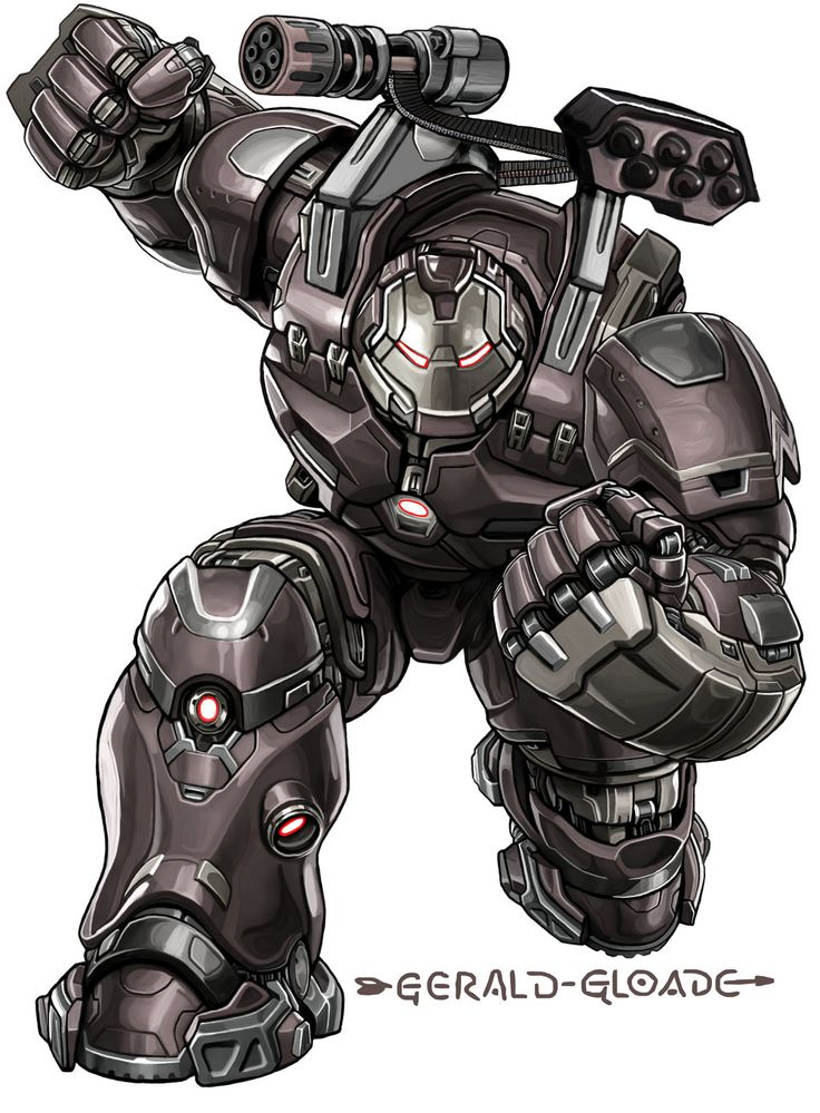 iron war machine