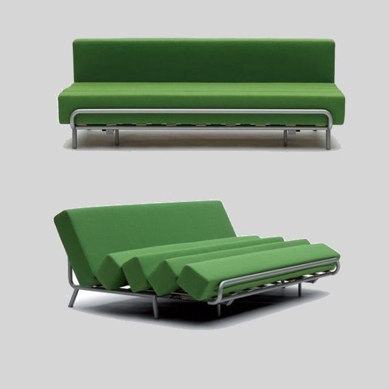 Sofa or bed? Discover the transformable design of Slesh by Campeggi design | http://www.malfattistore.it/product/slash/ | #malfattistore #campeggidesign #productdesign #shoponline #livingroom #bedroom #divanoletto