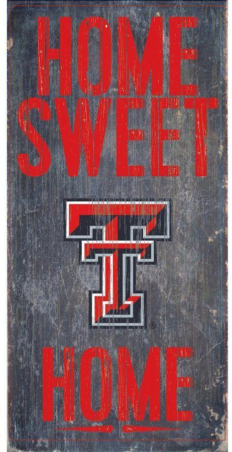 Texas Tech Red Raiders Sweet Home Wall Art, Multicolor | Texas tech ...