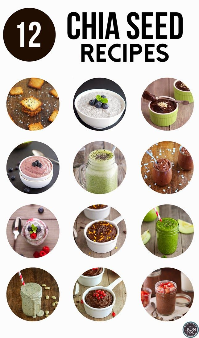 12 Chia Seed Recipes #Provesta #Skinception #coupon code nicesup123