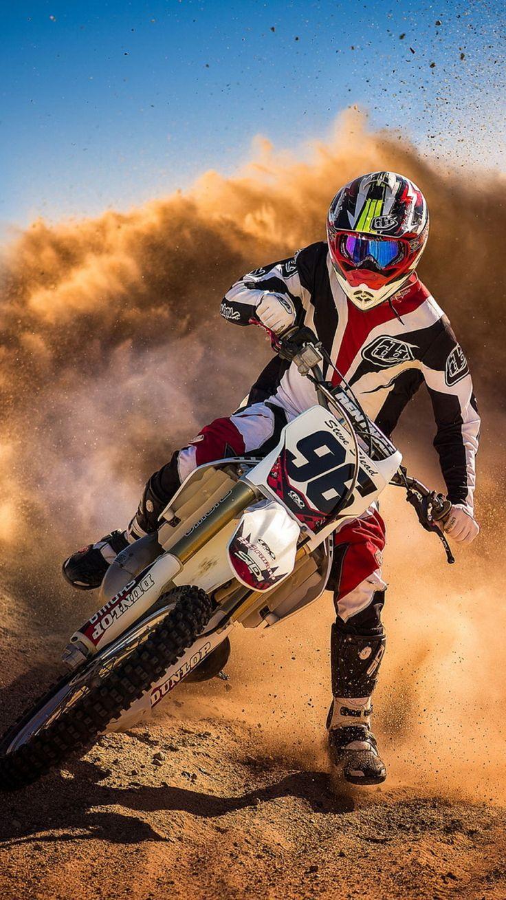 Iphone Cross Wallpaper Course De Motocross Motocros Desert 3wallpapers Iphone