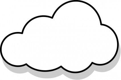 grapes / Cloud Outline Clip Art & Cloud Outline Clip Art Clip Art Images ...