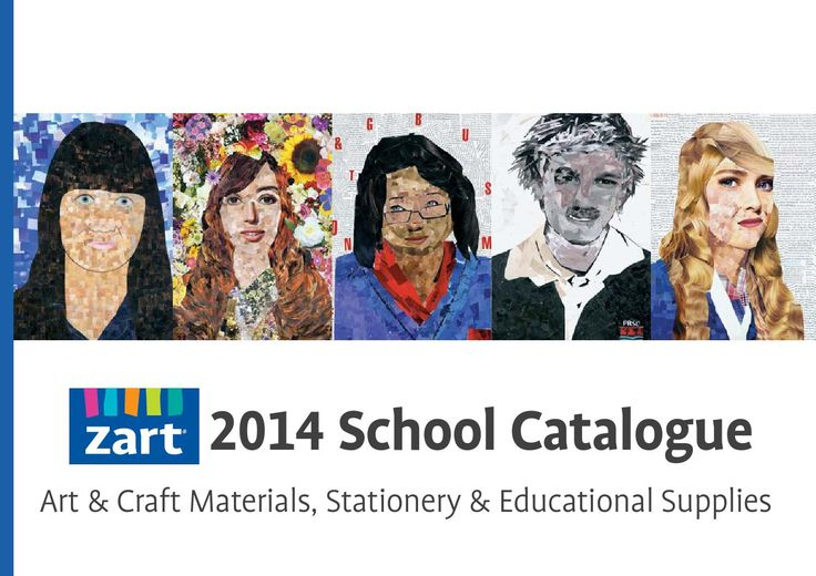 Zart School Catalogue 2014 Art and craft materials, stationery and educational supplies. Bulk buy offers and whole school value. All products are available through our on line store : www.zartart.com.au