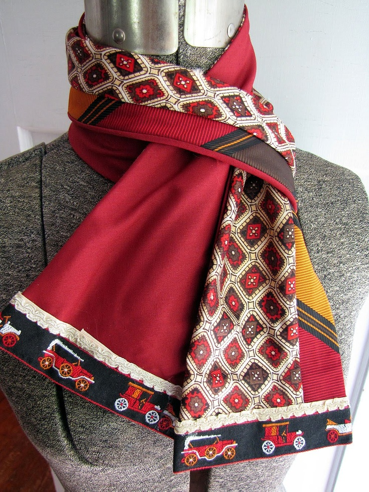 Red Hen Studios: New uses for old neckties