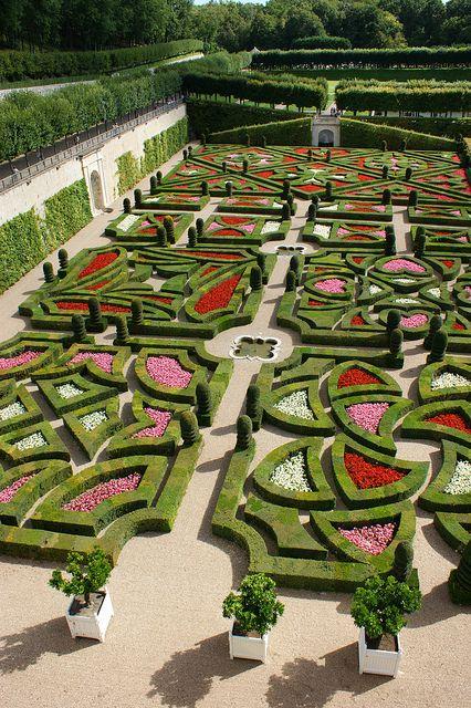 Chateau Villandry 'Love Gardens' (Loire Valley, France)