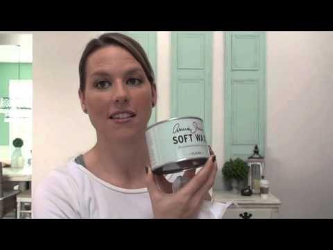Annie Sloan Chalk Paint® Tutorial - Heavy Distressing (Part 2) - YouTube