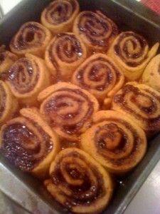 GF pumpkin cinnamon rolls