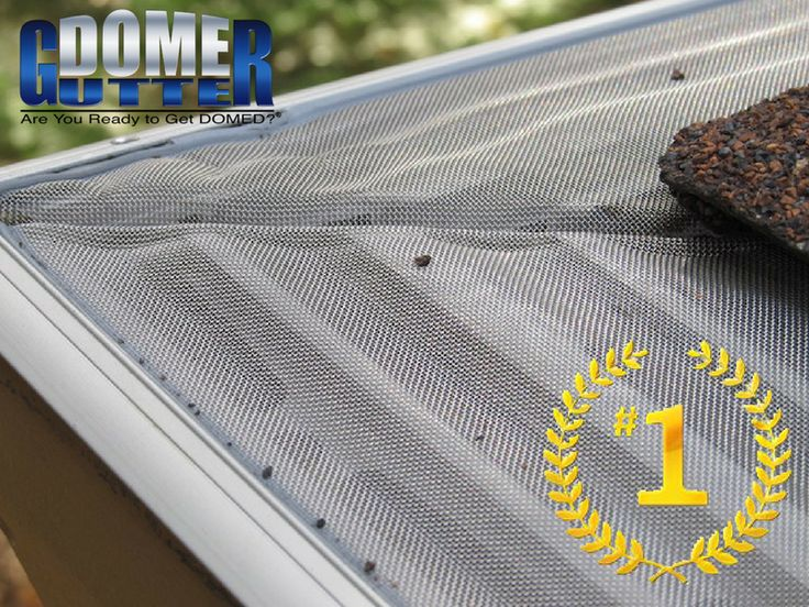 GutterDome is rated the #1 best gutter guard for value and performance with professional installation. #AreYouReadyToGetDOMED?